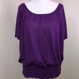 Cato Loose Fit Scoop Neck Top